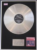 STEVIE WONDER - LP Platinum Disc - FOR ONCE IN MY LIFE